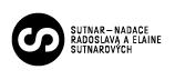 SUTNAR - Nadace Radoslava a Elaine Sutnarových 2
